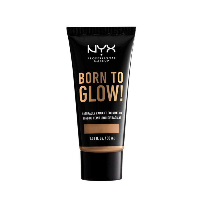 NYX Born To Glow Naturally Radiant Foundation 30ml - Neutral Tan
