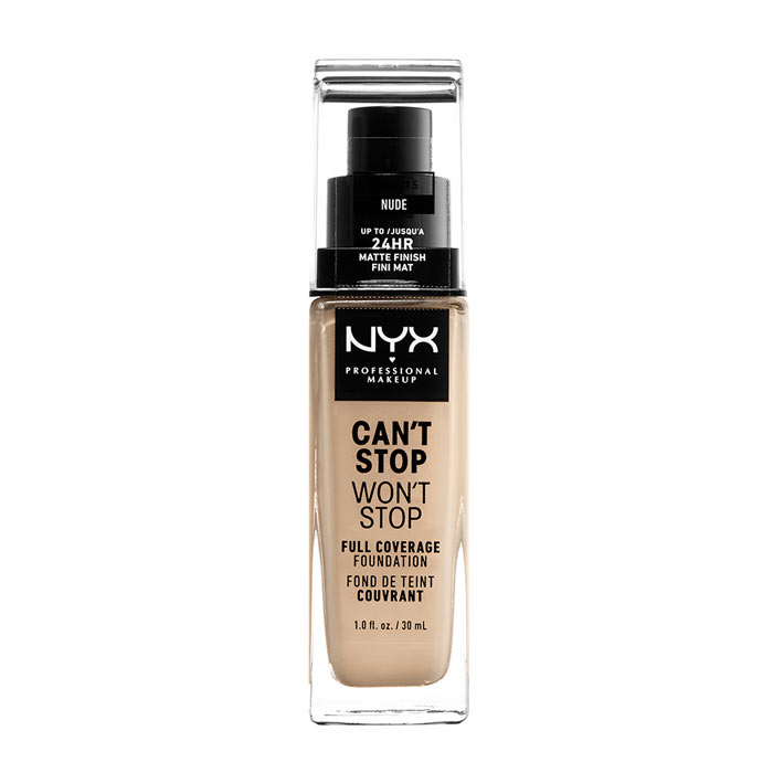 NYX PROF. MAKEUP Can t Stop Won t Stop Foundation - Nude
